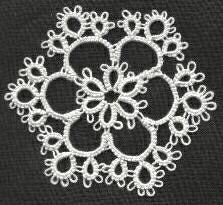 Easy snowflake pattern