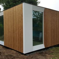 Container Shop, Shed, Outdoor Structures, Modern, Houses, Garden, Ideas, Sheet Metal, Homes