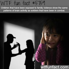 Family violence - PTSD!?! Something to keep in mind when working with kids from troubled families!