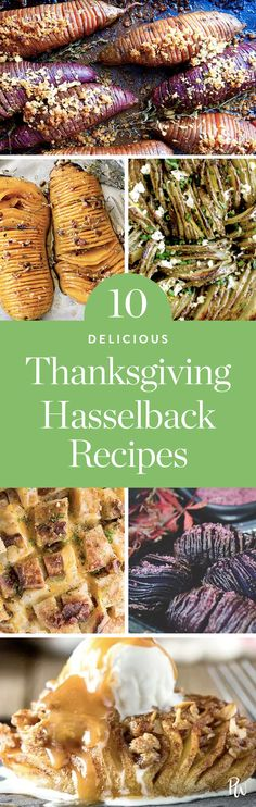 This Year's Thanksgiving Trend: Let's Hasselback Everything via @PureWow via @PureWow