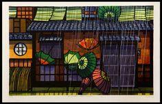 Clifton Karhu 1927-2007 - American printmaker, lived in Japan.