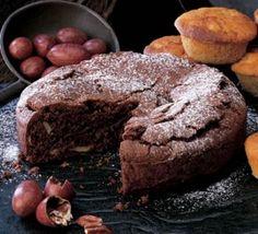 Chocolate brownie cake