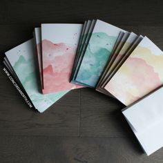 Happy Hues Card/Envelope Pack - Concord & 9th  Cards perfect for home made gifting.