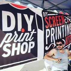 @scallopdelion #renegadecraftfair #diyprintshop #made2makeit #doityourself #screenprintlife