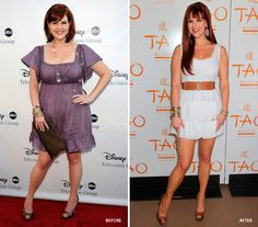 She may have starred in Less Than Perfect, but actress Sara Rue is getting closer to perfection since she adopted the Jenny Craig weight-loss program. #beauty