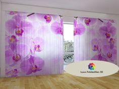 Fotogardinen Vorhänge in Luxus Fotodruck 3D. 2-tlg. Maßanfertigung.