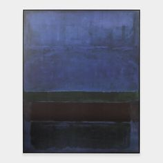 Rothko: Untitled (Blue, Green, and Brown). 1952