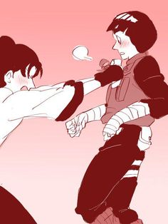 Tenten and Rock Lee #Naruto