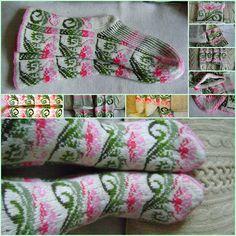 """Ravelry: tarelkaz's Socks """"Fabulous flower"""""""