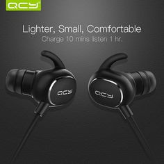 Now available on our store: QCY IPX4-rated sw... Check it out here! http://toutabay.com/products/qcy-ipx4-rated-sweatproof-headphones-bluetooth-v4-1-wireless-sports-earphones-3d-stereo-headset-with-mic?utm_campaign=social_autopilot&utm_source=pin&utm_medium=pin