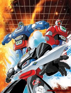 Arbegas (Kousoku Denjin Arubegasu) - 1983 - The Voltron that never happened. Robot Cartoon, Cartoon Tv, Cartoon Shows, Gundam, Voltron Force, Japanese Robot, Mecha Anime, Super Robot, Anime Fantasy
