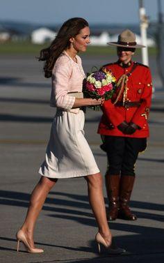 Royalty Fashions:  Duchess of Cambridge, Canada 2011