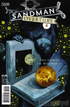 Neil Gaiman and J.H. Williams III talk Morpheus' father and this week's 'Sandman: Overture', a prequel to The Sandman Series by Joshua Rivera on ew.com