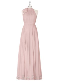 Shop Azazie Bridesmaid Dress - Cailyn in Chiffon. Find the perfect made-to-order bridesmaid dresses for your bridal party in your favorite color, style and fabric at Azazie.