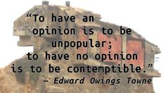 Edward Owings Towne - Contemptible