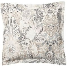 Pottery Barn Celeste Sham (65 CAD) ❤ liked on Polyvore featuring home, bed & bath, bedding, bed accessories, faux fur duvet, patterned bedding, paisley pattern bedding, pottery barn and pottery barn bed linens