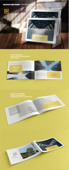 Minimal Portfolio Brochure Template Indesign Indd 14 Pages A5