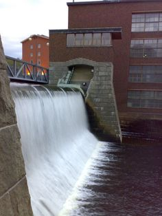 Patosilta at Tammerkoski rapid, Tampere, Finland Wonderful Places, Beautiful Homes, Travelling, Waterfall, History, Country, City, World, Outdoor