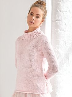 WISTFUL from Haze by Kim Hargreaves. Twenty One new designs for Summer from Kim Hargreaves | English Yarns