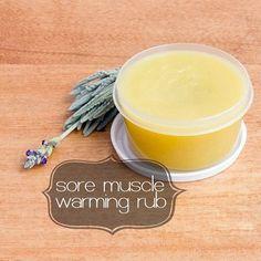 DIY Warming Rub For