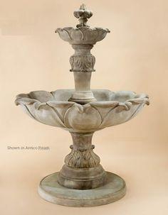 Fleur Acanthe Fountain