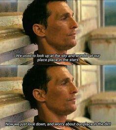 Interstellar, a true masterpiece! Sad Movies, Indie Movies, I Movie, True Detective Quotes, Christopher Nolan Quotes, Best Movie Lines, Writing Fantasy, Favorite Movie Quotes, Foreign Movies