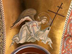Order Of Angels, Byzantine Icons, Orthodox Icons, Fresco, Christianity, Mosaic, Character Design, Design Inspiration, Princess Zelda