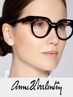 Ann et Valentin Eyewear - prescription glasses at Eye Candy Optical