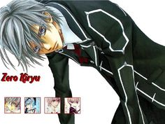 Zero Kiryu -Vampire Knight Age: 17 years old Height: Weight: Unknown Hair Color: Silver Eye Color: Light Lavender Race: Vampire Hottest Anime Characters, Manga Characters, Fictional Characters, Hot Anime Guys, Hot Guys, Zero Kiryu, Usuk, Vampire Knight, Legend Of Korra