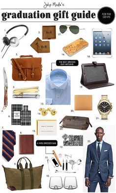 Julip Made graduation gift guide for the guys by julip made, via Flickr
