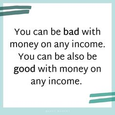 """Repost from @easy_budget Sure it can be more difficult when there is less coming in, but God isn't looking at us to be perfect, but to make the most - and do the best - with what we are currently working with. """"Whatever your income is, high or low, it's completely up to you how you manage it... Someone who makes $50,000 a year can retire with a healthy nest egg and someone who makes $200,000 a year could die broke."""" 💗Double tap if you agree!💗 Easy Budget, Finance Blog, Currently Working, Get Out Of Debt, Ways To Save Money, Money Management, Double Tap, Personal Finance, Nest"""
