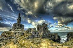 Sinclair and Girnigoe Castle... Caithness, Scotland