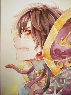 Apophis - Im Anime Style, Golden Warriors, Kagerou Project, Sumo, Cosplay, Son Goku, Priest, Anime Guys, Beast