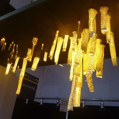 Original design chandelier / porcelain ANEMONE Semeur d'étoiles