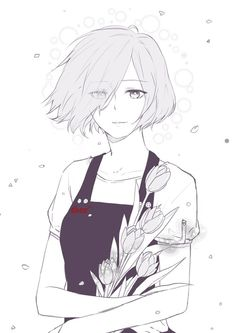 i miss it, those days. Touka | Tokyo Ghoul