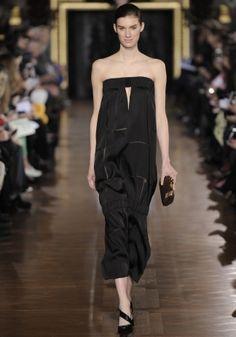 Mix Silk Twill Devore Brunelle Dress, Jodie Wedge Winter 2013 Look 34