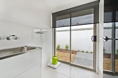 #Laundry #room #ideas from Ausbuild's Segal display #home.This room is bright and airy and simple. www.ausbuild.com.au