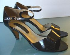 Vintage Marquise Made in Italy Patent Leather Shoes 7B by EurotrashItaly on Etsy