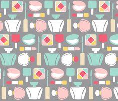 what a girl needs fabric by oleynikka on Spoonflower - custom fabric