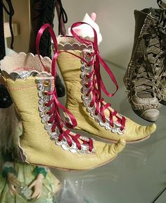 ooak bjd boots by cedar_heart, via Flickr
