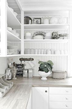 cocina blanca nordico