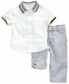 Baby Boy Clothes at Macy's - Baby Boy Clothing - Macy's Baby Boy Outfits, Boy Clothing, Clothes, Shirt Dress, Children, Boys, Mens Tops, Shirts, Future