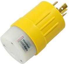 nema l5 30p locking power cord plug adapters locking power cord conntek rv generator adapter l14 20p 20 amp 125 250v locking plug to