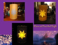 Tangled paper lanterns, for Kate. Tangled Room, Tangled Sun, Tangled Party, Disney Tangled, Summer Camp Crafts, Camping Crafts, Diy Laterns, Tangled Lanterns, Rapunzel Birthday Party