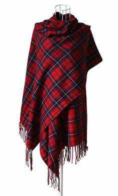 YYX 2013 Fashion New Long Plaid Wool Scarf Warm Shawl Fall/Spring/Winter