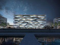 Bustler: BIG + HKS + MDA unveils Honeycomb resort design for The Bahamas