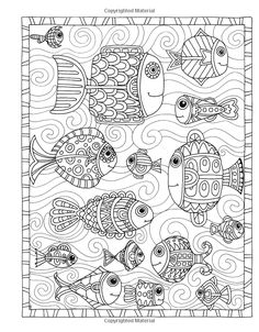 383 Best Under The Sea Coloring Pages For Adults Images On Pinterest