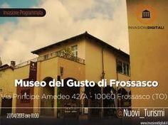 #invasionidigitali 27 Aprile 2013 al Museo del del Gusto con Nuovi Turismi Silvia Badriotto - Nuovi Turismi Sabato 27 aprile 2013 dalle 11.00 alle 13.00  Frossasco, Italia