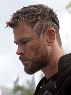 Hair And Beard Styles, Short Hair Styles, Chris Hemsworth Hair, Catching Fire, Hemsworth Brothers, Tribute, Man Thing Marvel, Moustaches, Boy Hairstyles