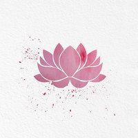 Watercolor Art Lotus Flower gift Modern 8x10 Wall Art Decor Lotus Flower Illustration Art Wall Hanging Print - Thumbnail 2